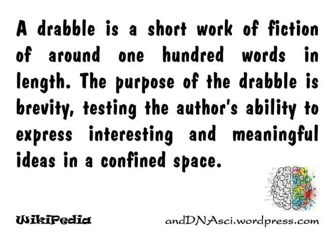 Drabble, anddnasci.wordpress.com, Tanzelle Oberholster, Wikipedia