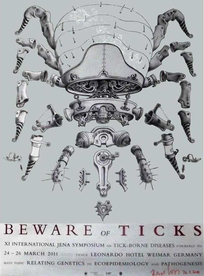 Beware of Ticks XI International Jena Symposium on Tick Borne DIseases 2011 Tanzelle Oberholster andDNAsci.wordpress