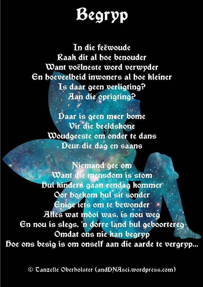 Galaxy Fairy Tanzelle Oberholster Begryp Afrikaans Poem anddnasci.wordpress Online