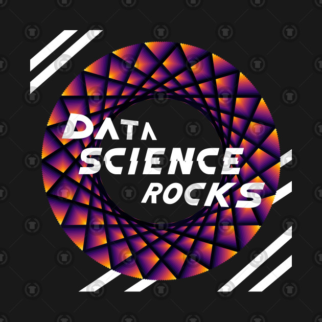 Data Science Rocks, Black Red Yellow, Racing Stripes, Maurer Rose, Teepublic, Artverse, Tanzelle Oberholster, Design