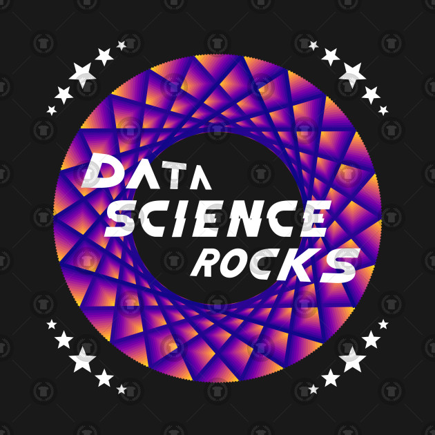 Data Science Rocks, Blue Red Yellow, Racing Stars,Maurer Rose, Teepublic, Artverse, Tanzelle Oberholster, Design