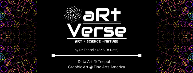aRtVerse Dr Data Dr Tanzelle Data Art Graphic Art