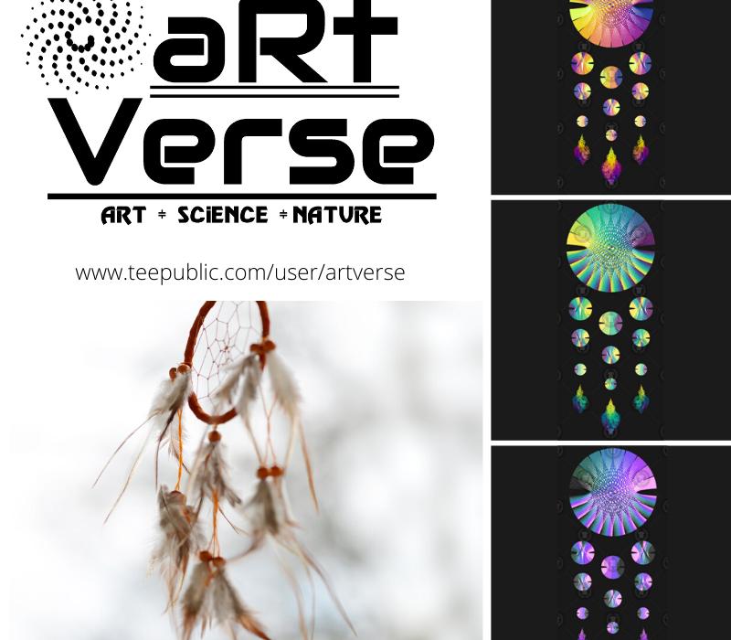 Datacatcher, Dreamcatcher, aRtVerse, Teepublic, data art, math art, code art, data science, data analytics, R programming, dragonfly, data nerd, fashion