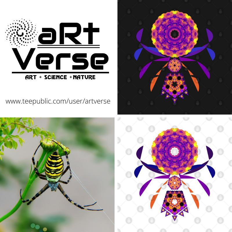 Mandala, Spider, Polygon, data analytics, data science, data nerd, data art, code art, math art, generative art, algorithmic art, rose curve, maurer rose