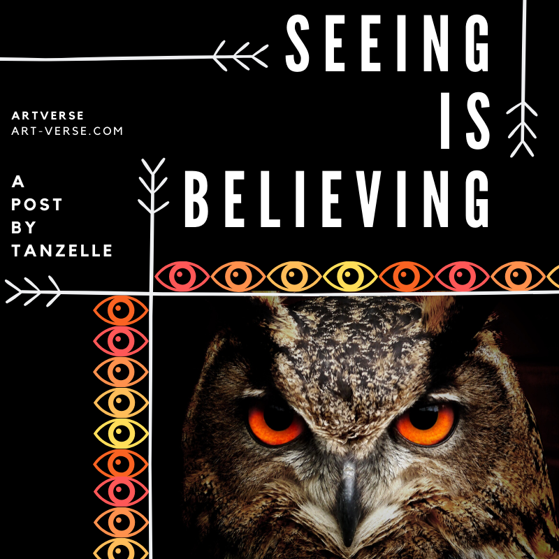 Seeing Is Believing, Tanzelle Oberholster, aRtVerse, art-verse.com, science as a religion, about science