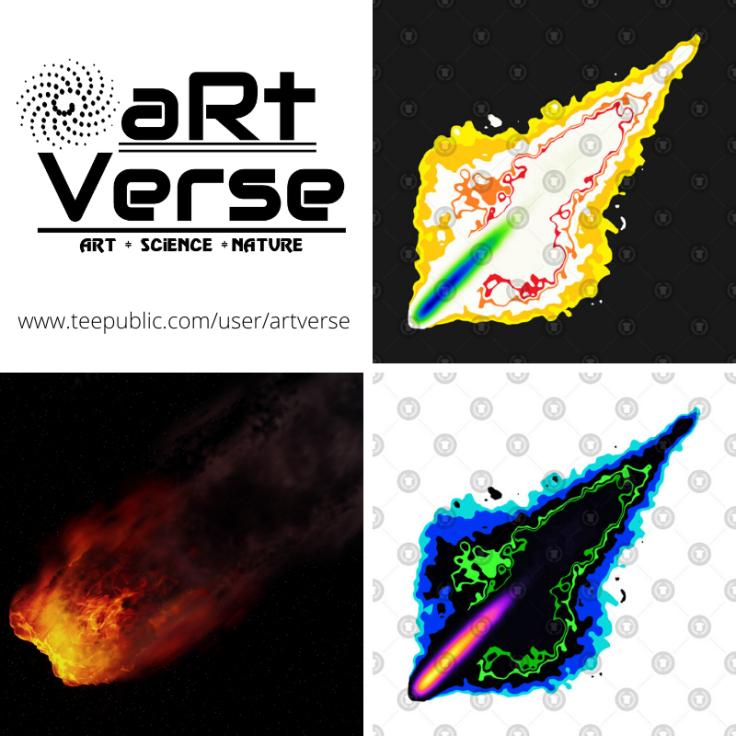 astronomy, space, data science, data analytics, data art, math art, code art, flames, fire, fireball, data nerd, rock, apocalypse